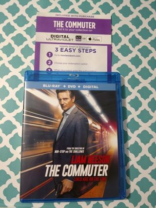 Blu-ray DVD The Commuter