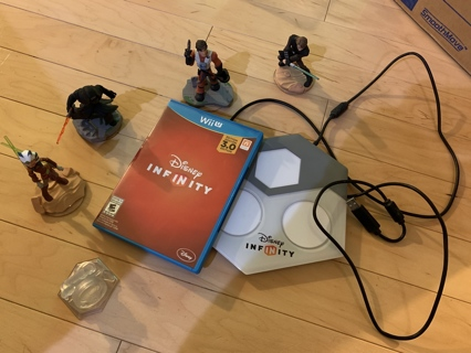 Disney Infinity 3.0 for Wii U - used in great condition