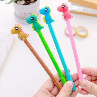 4 Piece Lytwtw's Korean Stationery Cute Kawaii Candy Dinosaur Boy Gel Pen School Office Supplies H