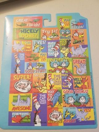 Dr.Seuss Green Eggs and Ham Stickers # 1