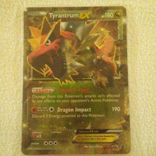 Pokemon - Tyrantrum EX