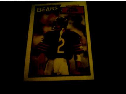 1987 Doug Flutie Rookie Card