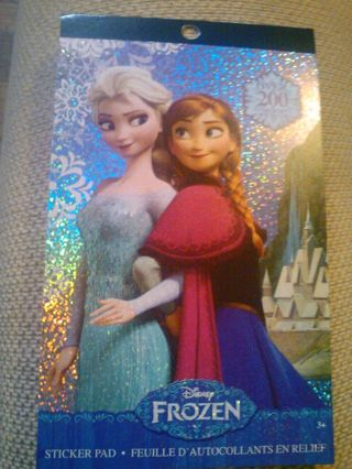 Disney FROZEN over 200 stickers BRAND NEW