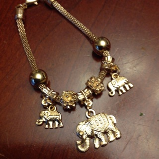 Beautiful Fashion Bracelet with Charms.