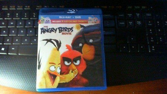 The Angry Birds Movie Blu Ray