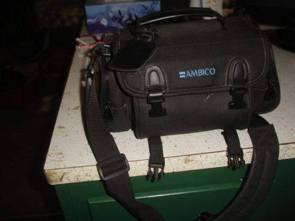 camcorder or camera bag,ambico is the brand.