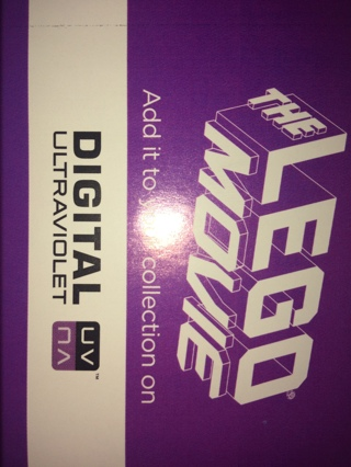 The lego movie digital download code