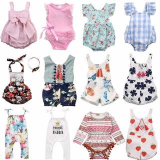 Hot Newborn Infant Baby Girls Romper Bodysuit Jumpsuit Sunsuit Clothes Outfits