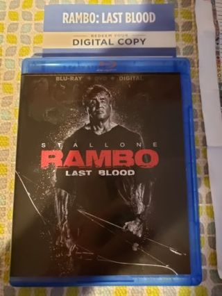 Rambo Last Blood digital copy