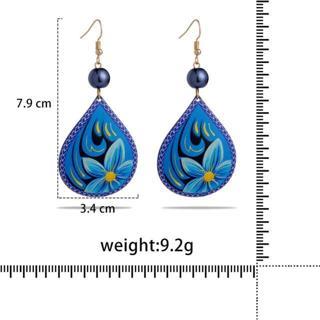 Summer Women Acrylic Drop Earrings 2020 Large Design Angel Wings Drop Earings