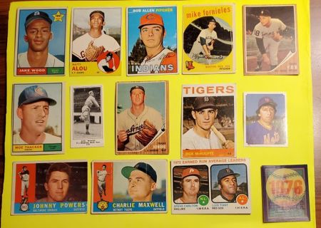 Estate Collection of Old Baseball /Tobacco Cards (Lot #5)