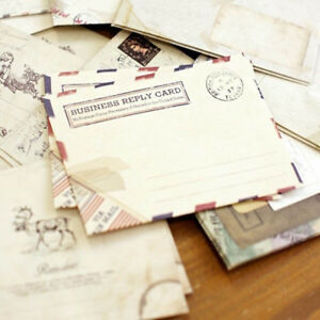Envelope Vintage Retro Air Mail Envelopes Stationery Vintage Envelope Paper