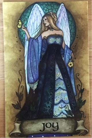 "ANGEL OF JOY - 4"" x 5"" MAGNET"