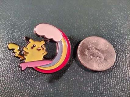 Custom Surfing Pikachu Hard Enamel Pokemon Pin