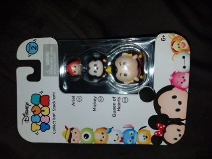 New 3 pack series 2 Disney tsum tsums