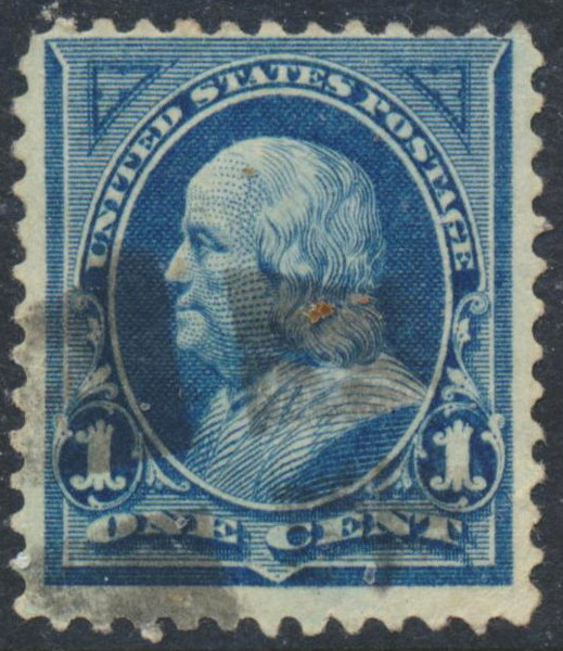 Free Old Us Stamp 1c Blue With Benjamin Franklin From 1895 Stamps Listia Com Auctions For