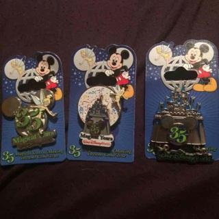 35 Year Anniversary Disney Pins