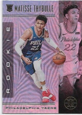 2019-20 ILLUSIONS MATISSE THYBULLE HOLO ROOKIE CARD