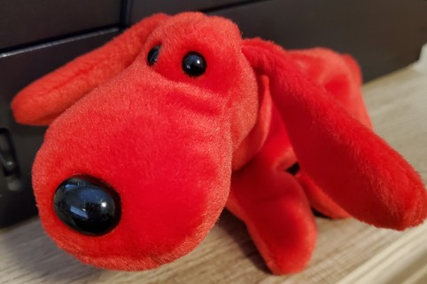"""NEW - TY Beanie Baby - """"Rover"""""""