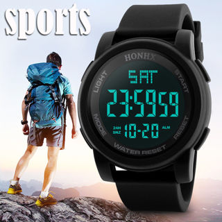 [GIN FOR FREE SHIPPING] LED Waterproof Digital Quartz Military Luxury Sport Date Watch