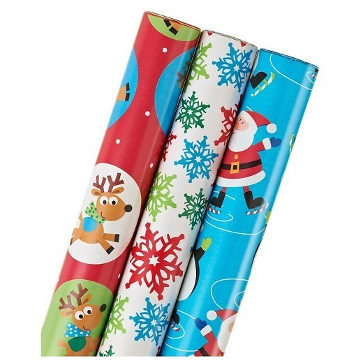 target wrapping paper Everyday gift wrapping paper when you give a present, you want to ensure that the wrapping conveys as much thoughtfulness and love as the gift inside a poorly wrapped package can give the wrong impression, so make every gift presentable with gorgeous gift wrapping paper from paper mart.