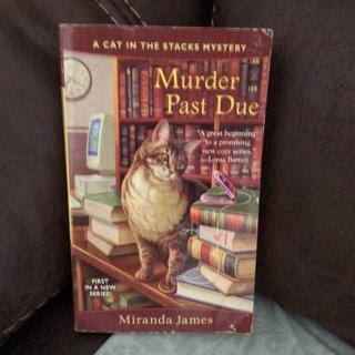 Paperback Book: Murder Past Due by Miranda James