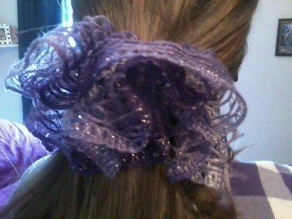 girly girls hair tie