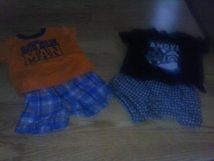 EXCELLENT COND. 6-9 MONTH BOYS OUTFITS