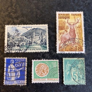 France collectable stamps
