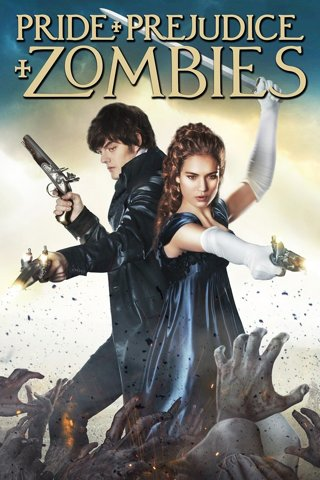 Pride & Prejudice and Zombies, Digital HD Movie Code, redeems on Vudu