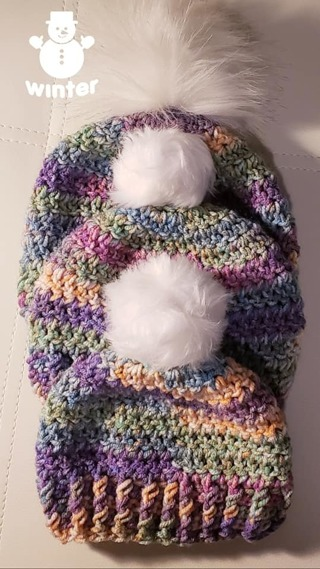 CROCHET 3 YES 3 BEANIES 3 DIFFERENT SIZES**L@@K**