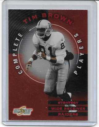 Tim Brown 2000 Score Complete Players #CP29