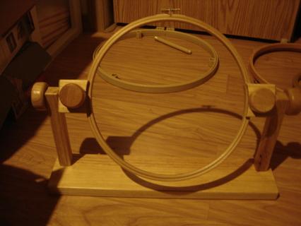 couple of hoop holders