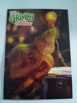 How The Grinch Stole Christmas Trading Card