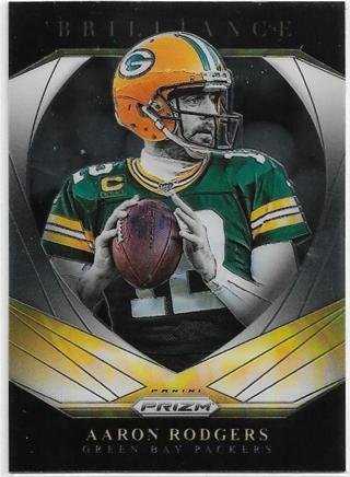 2020 PRIZM AARON RODGERS BRILLIANCE CARD
