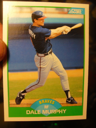Dale Murphy Baseball Card