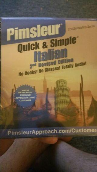 Brand new Pimsleur Approach learn Italian