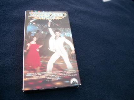 Saturday Night Fever movie VHS