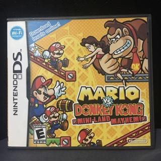 Mario VS. Donkey Kong- Mini Land Mayhem- MINT CONDITION- COMPLETE