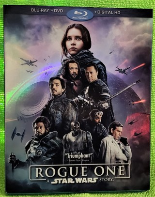 Star Wars: Rogue One blu ray & DVD