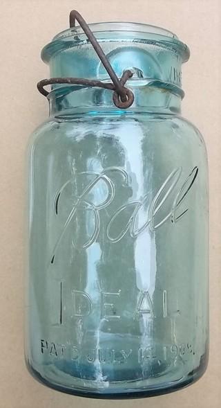 1923-1933 Ball Ideal Quart Jar