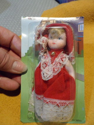 small vintage porcelain dolls