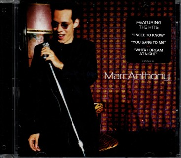 Self-Titled CD by Marc Anthony