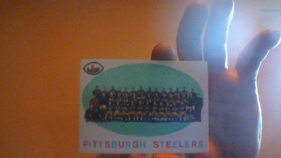 1959 TOPPS STEELERS TEAM CHECKLIST #146