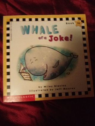 Used Children's Scholastic Book Whale of a Joke