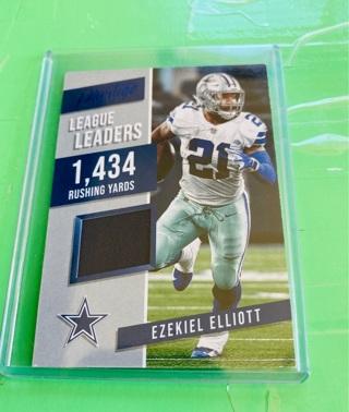 2019 Blue Prestige Ezekiel Elliott Jersey Card