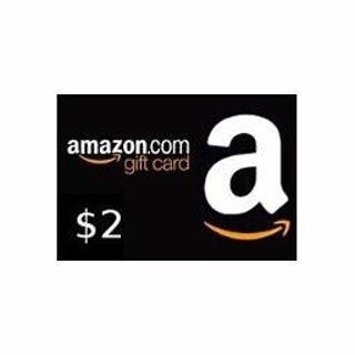 $2 Amazon E GIft Card Code