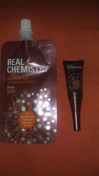 2 Real Chemistry Peels. One for body and one for face