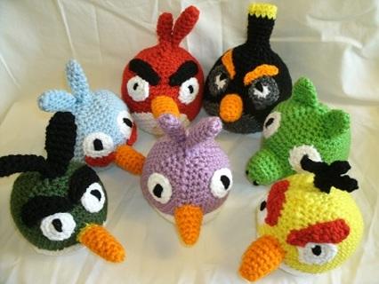 Amigurumi Crochet Angry Birds Patterns - Örgü Modelleri | 320x426