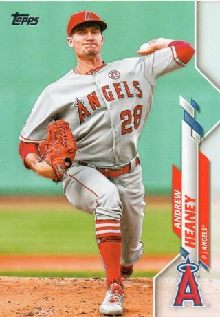 2020 Topps Andrew Heaney #66 Los Angeles Angels
